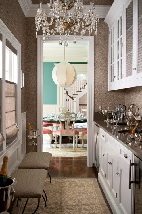 Modern contemporary butlers pantry kitchen pinterest for Kitchen designs with butler pantry