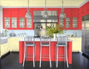 coral-and-grey-kitchen-300x233