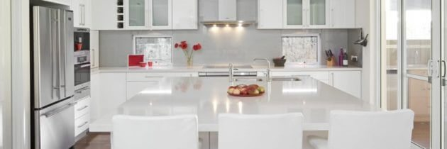 The Ultimate White Kitchen