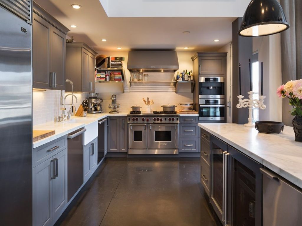 SOMA Loft Traditional Kitchen Design San Francisco Bay Area