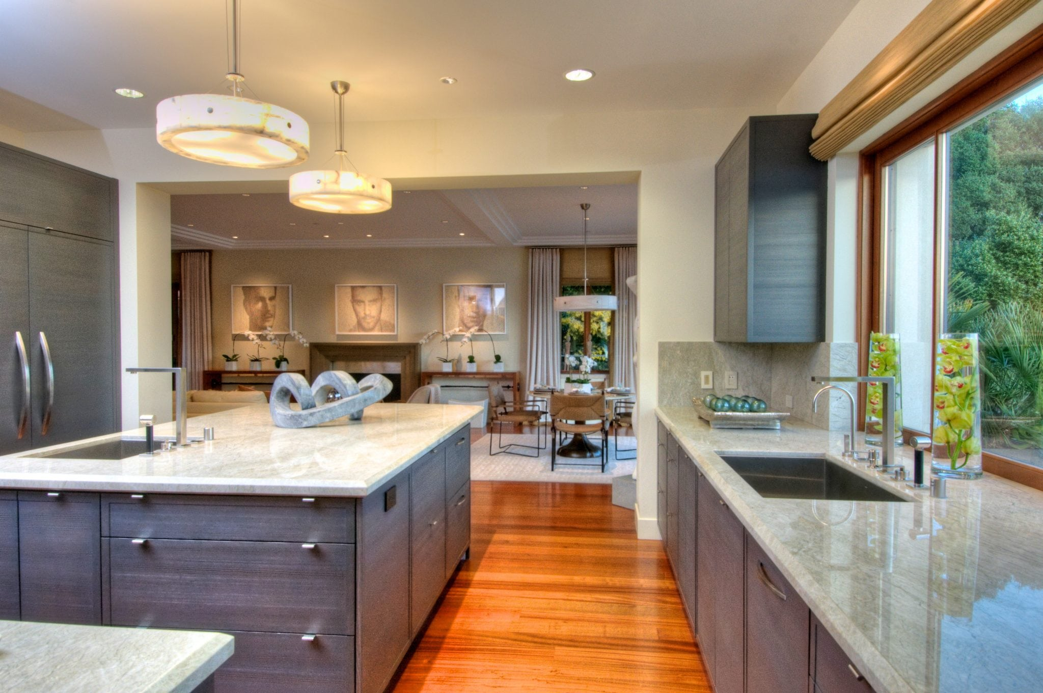 Belvedere Contempary Kitchen Design Custom Cabinets San Francisco
