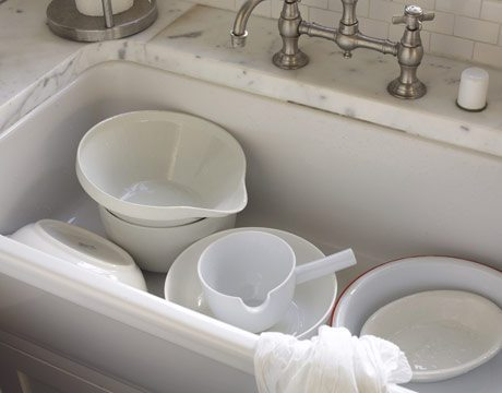 Scrape, Don't Rinse Your Dishes